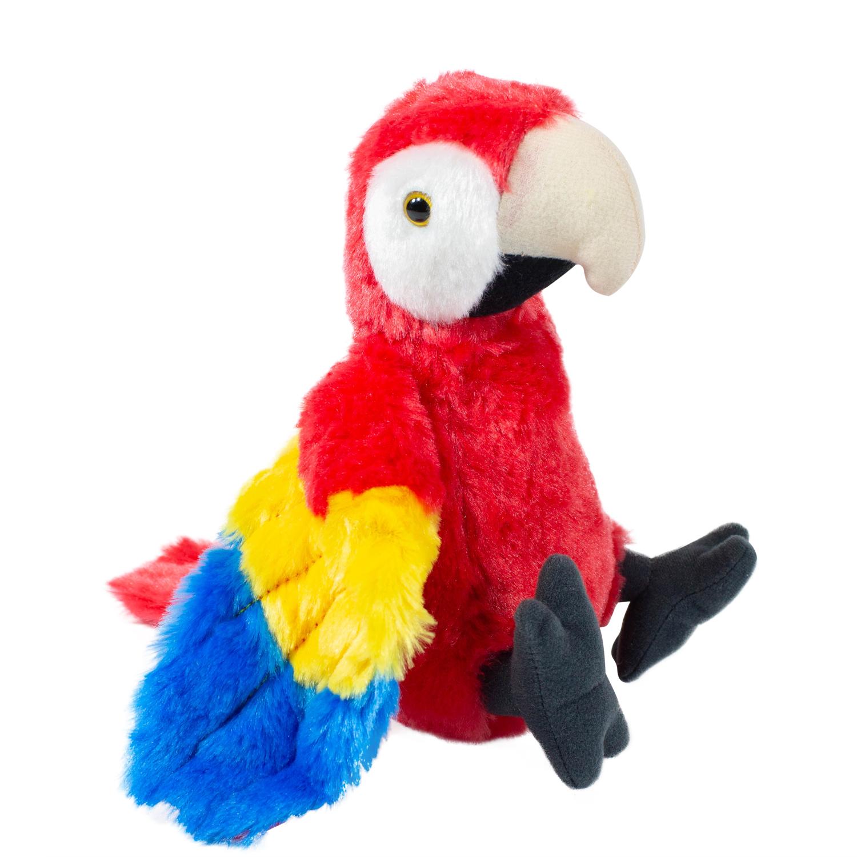 Купить Мягкая игрушка Wild republic Красный ара, 29 см 12293, Мягкие игрушки животные