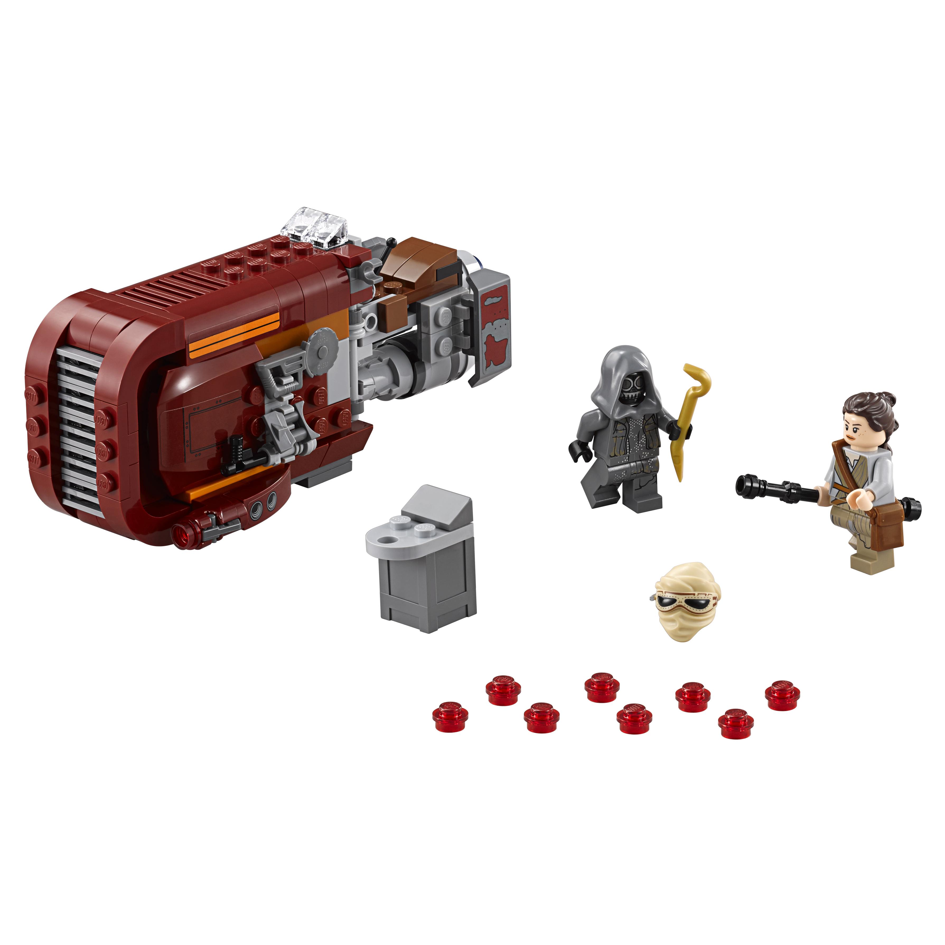 Купить Конструктор lego star wars спидер рей rey's speeder 75099, Конструктор LEGO Star Wars Спидер Рей (Reys Speeder) (75099)