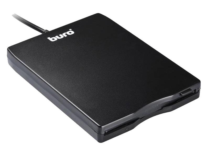 Привод Buro BUM USB FDD 1.44Mb Black