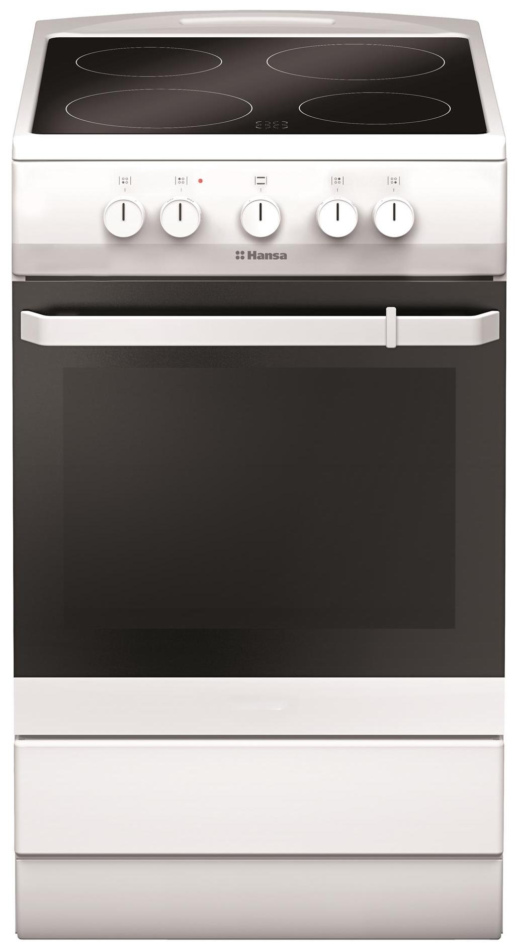 Электрическая плита Hansa FCCW54000 White