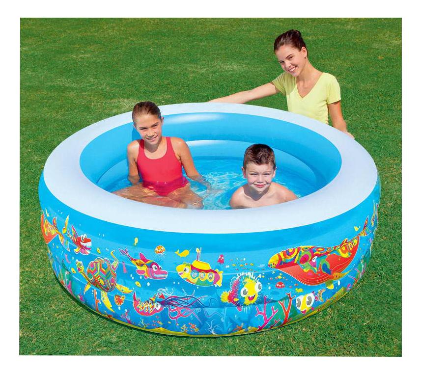 Купить Детский круглый бассейн BestWay Подводный мир 51122 BW, Детские бассейны
