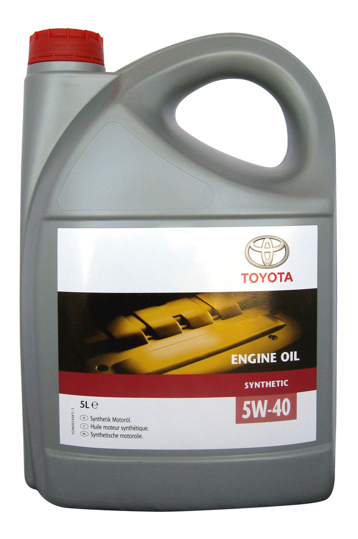 Моторное масло Toyota Engine Oil Synthetic 5W-40 5л