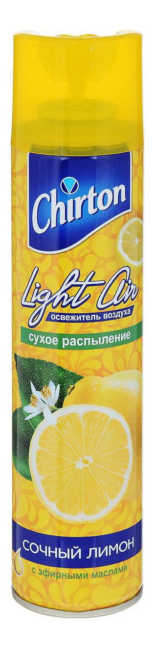 Освежитель воздуха Chirton лайт эйр сочный лимон 300 мл