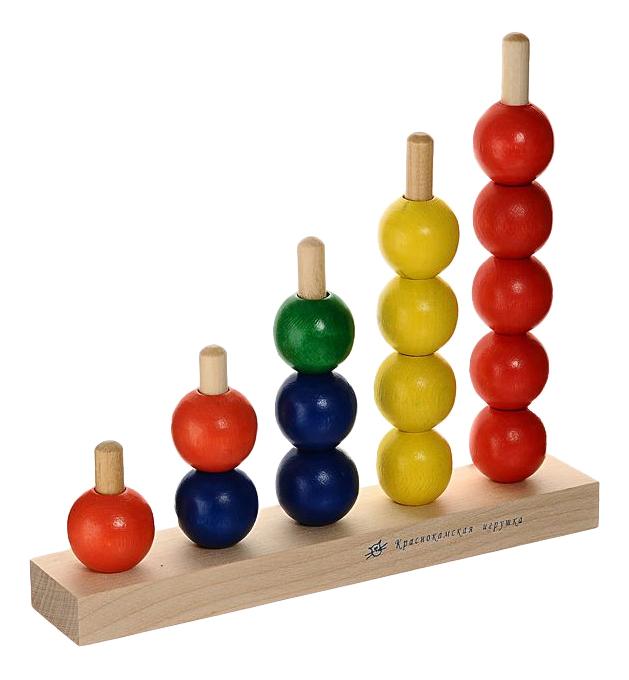 Купить Пирамидка Краснокамская игрушка Радуга, Краснокамская Игрушка, Пирамидки для детей