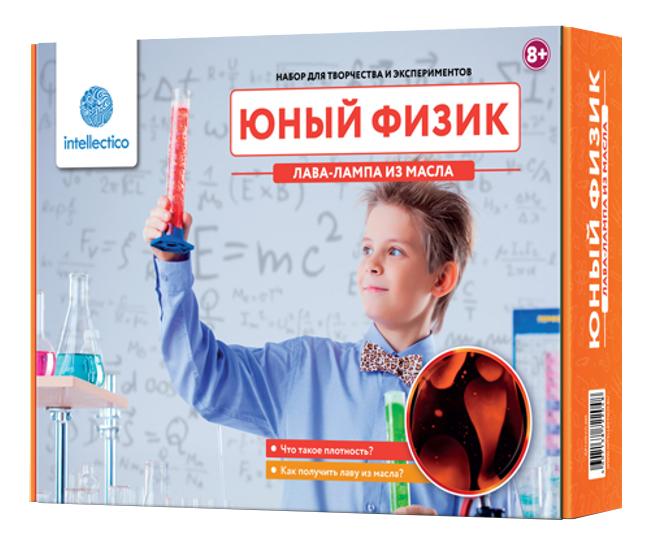 Купить Набор для исследования Intellectico Юный Физик Лава-лампа из масла,