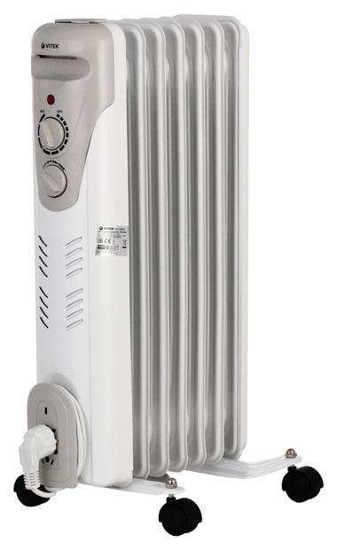 Масляный радиатор Vitek VT 1708 W белый