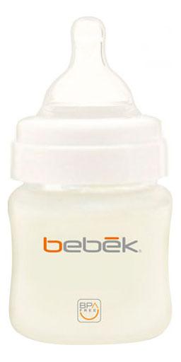 Купить С силиконовой соской 150 мл, Детская бутылочка Bebek С силиконовой соской 150 мл, Бутылочки для кормления