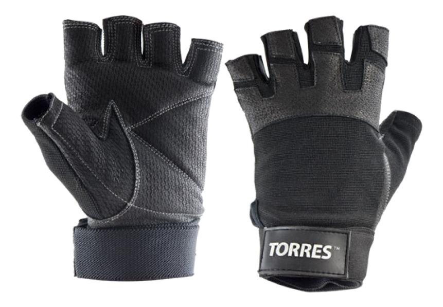 Перчатки для тяжелой атлетики и фитнеса Torres
