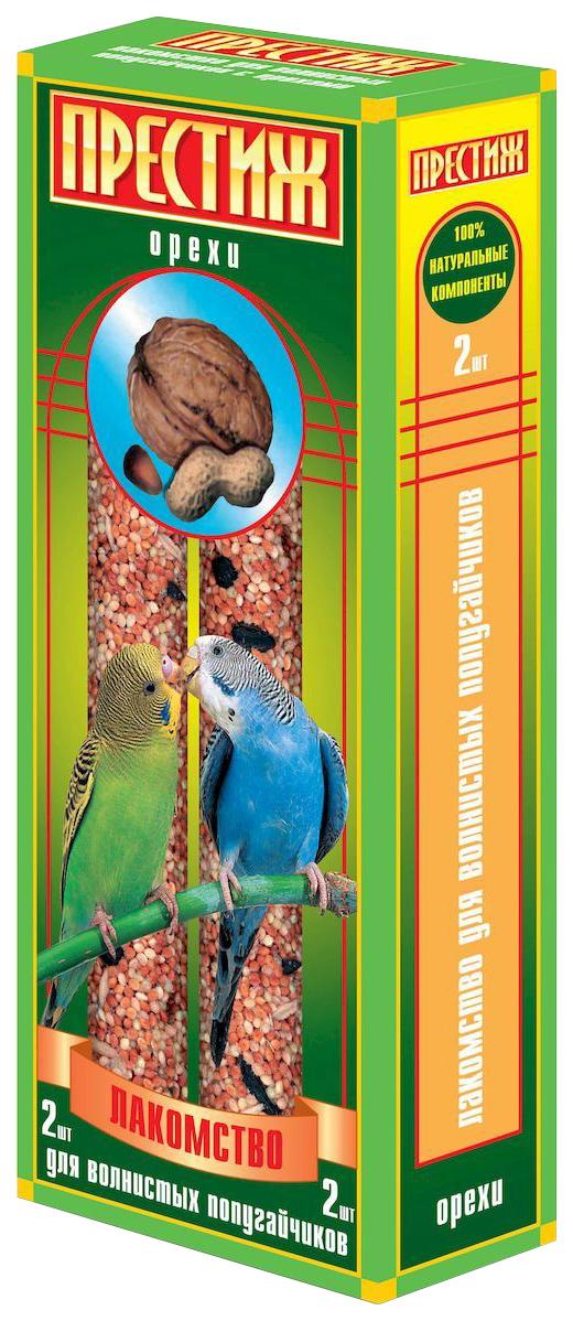 Лакомство для волнистых попугаев Престиж, орехи, 2шт
