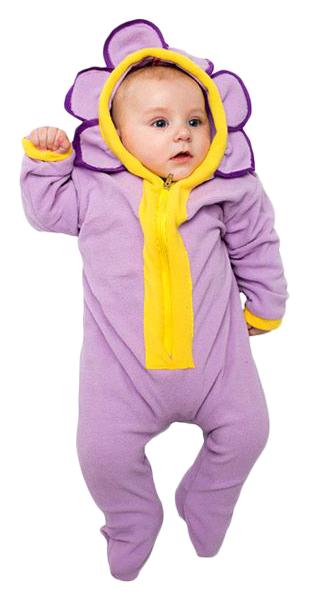 Карнавальный костюм Бока Цветок, цв. фиолетовый р.74