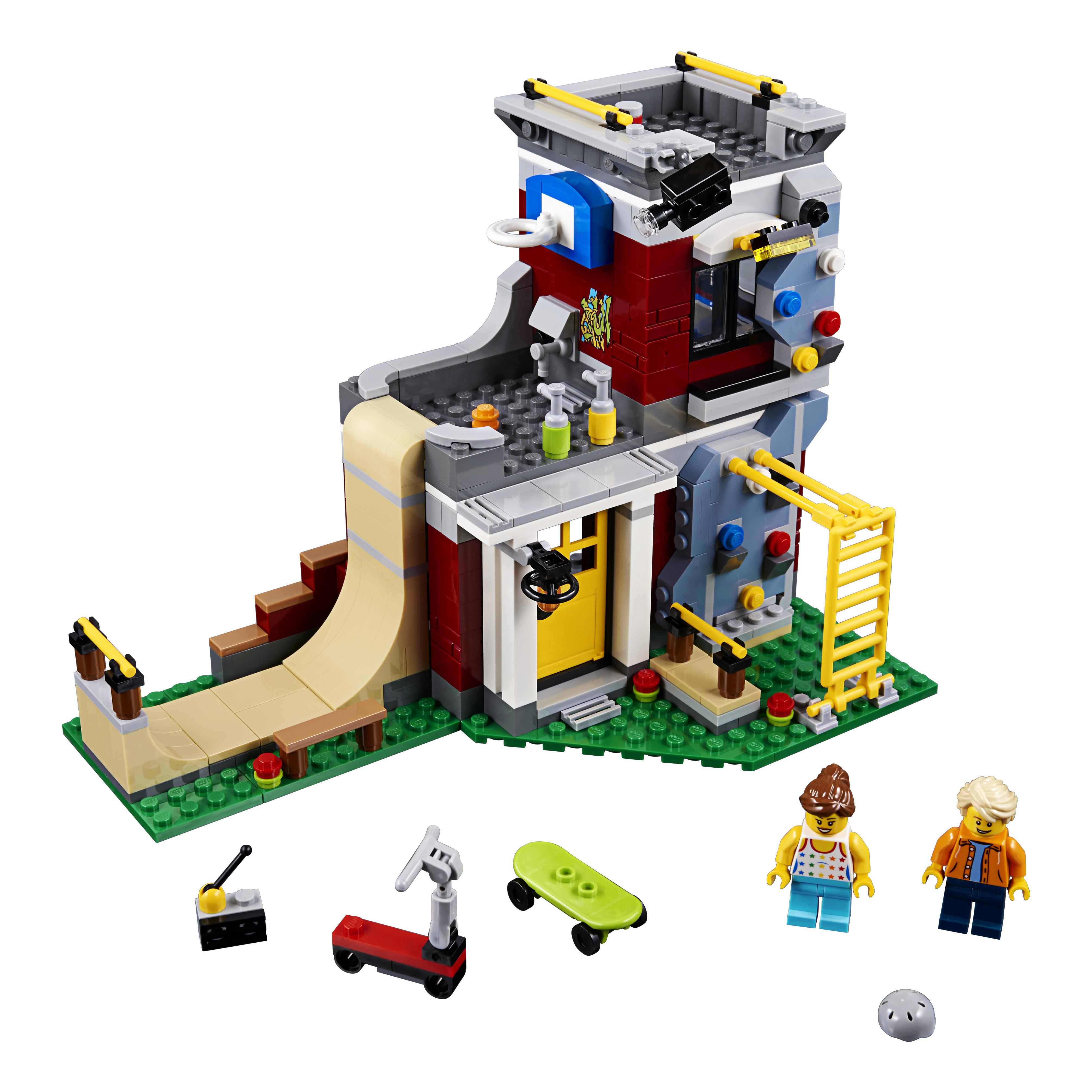 Конструктор LEGO Creator Скейт-площадка (модульная сборка) (31081) фото