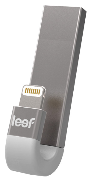 USB-флешка Leef iBridge3 32GB Silver (LIB300SW032R1)