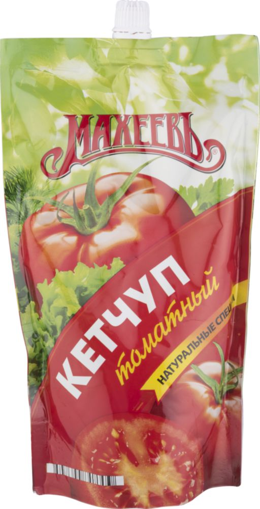 Кетчуп Махеевъ томатный 500 г фото