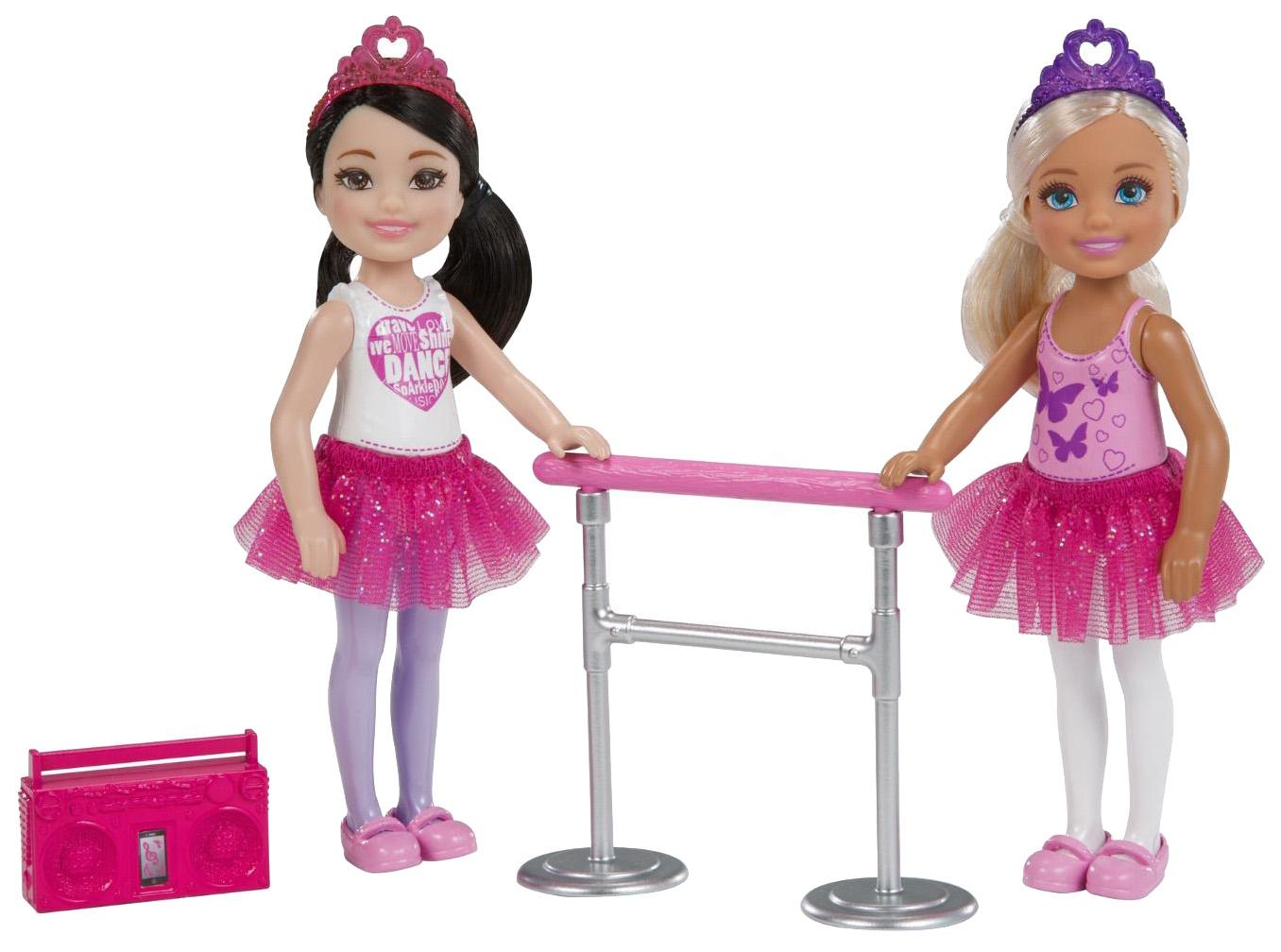 Купить Челси Балерины 2 шт., Куклы Barbie Челси Балерины FHK96/FHK98 2 шт
