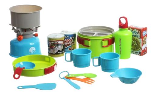 Купить Игровой набор для кемпинга Camping cClubhouse с мешком Shenzhen Toys Г53729, Игровые наборы