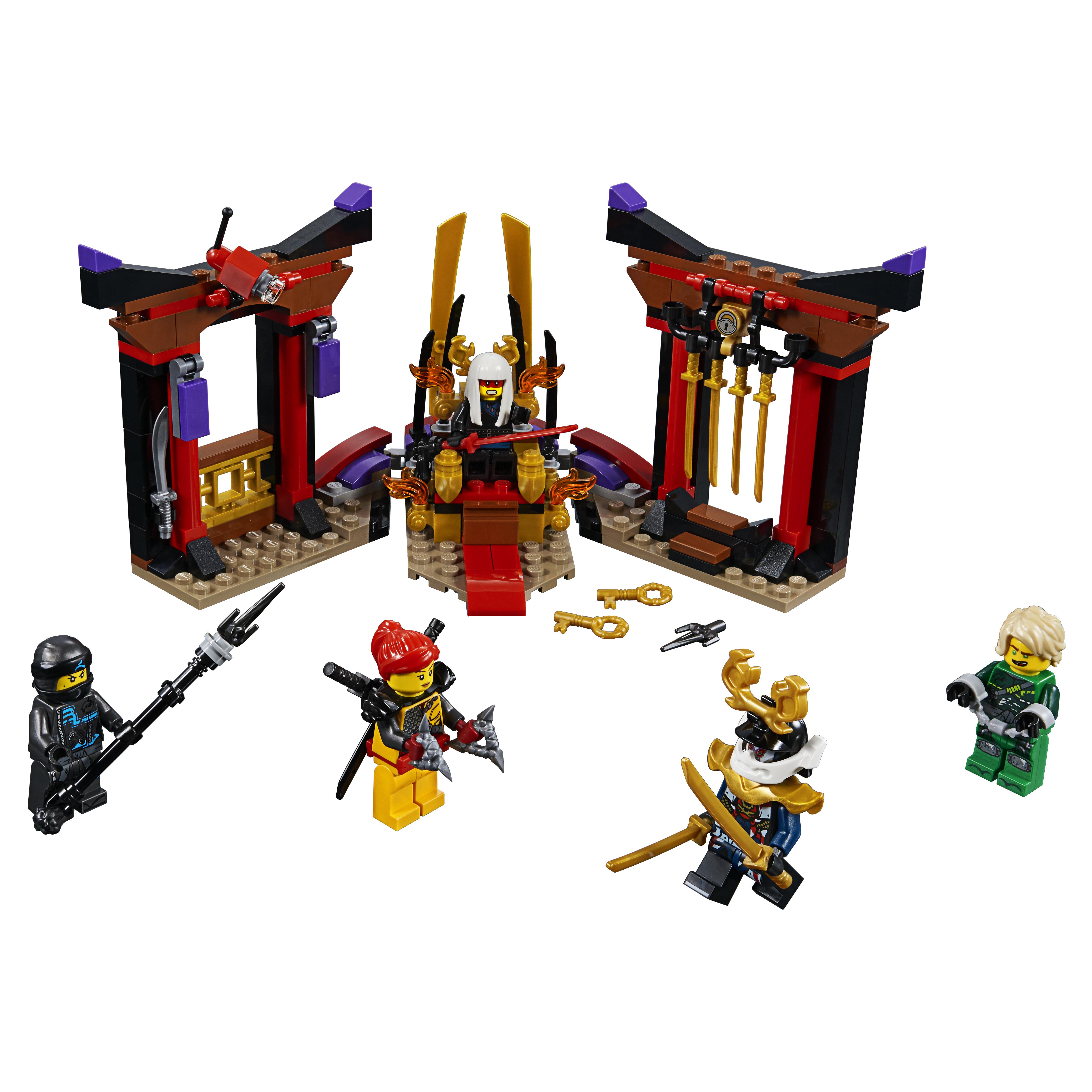 Конструктор LEGO Ninjago Решающий бой в тронном