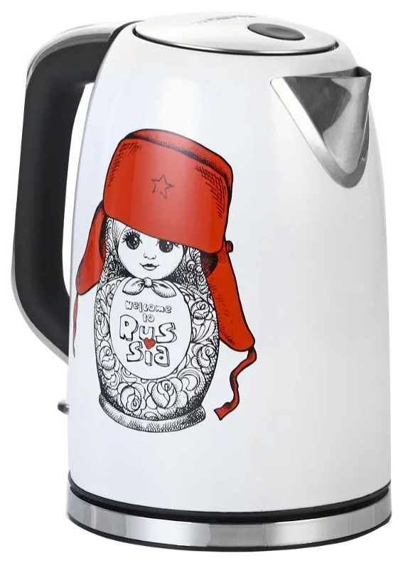 Чайник электрический Polaris PWK 1715CA White/Black