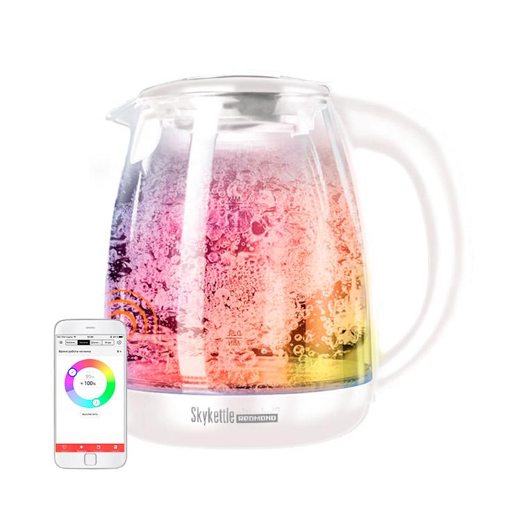 Умный чайник светильник Redmond SkyKettle G211S White