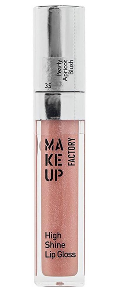 Купить Блеск с эффектом влажных губ Make up Factory 6, 5 мл, блеск для губ high shine lip gloss №36