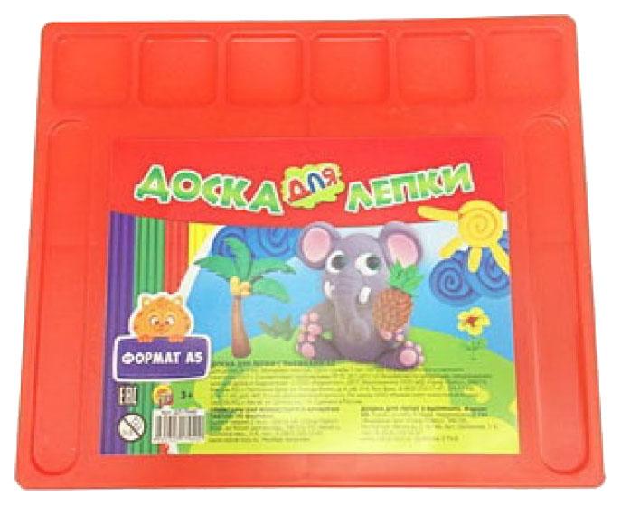 Купить Набор для лепки из пластилина Рыжий Кот Доска с выемками А5 ДЛ-7940, Рыжий кот, Лепка