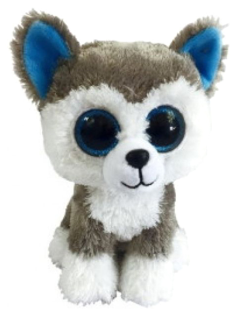 Хаски 15 см, Мягкая игрушка ABtoys Собачка хаски, 15 см M0020, Мягкие игрушки животные  - купить со скидкой