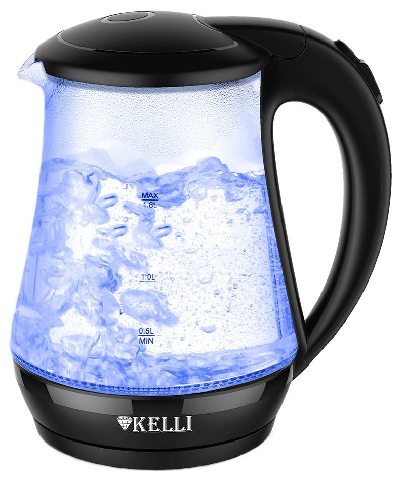 Чайник электрический Kelli KL 1334 Black