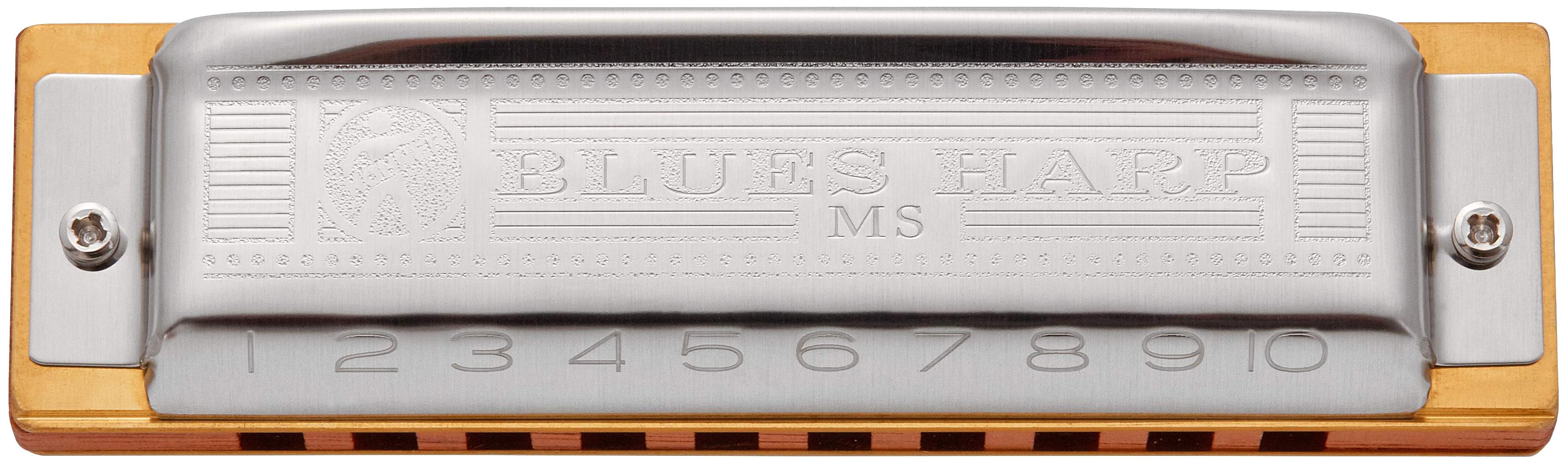 Губная гармоника диатоническая HOHNER Blues Harp 532/20 MS Db
