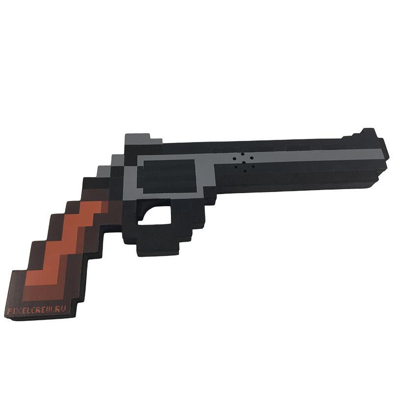 Пистолет Pixel Crew 8Бит магнум пиксельный