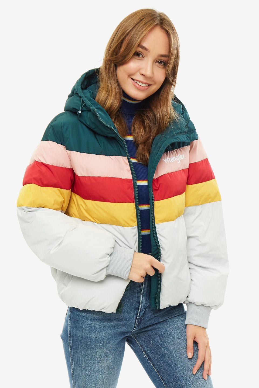 Куртка женская Wrangler серая