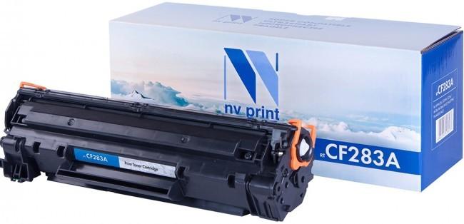Картридж для лазерного принтера NV Print CF283A, черный NV-CF283A