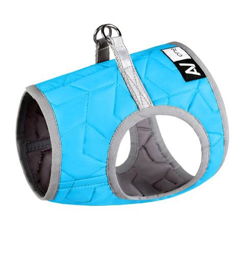 Шлейка для собак Collar AiryVest ONE, мягкая, синяя, S2