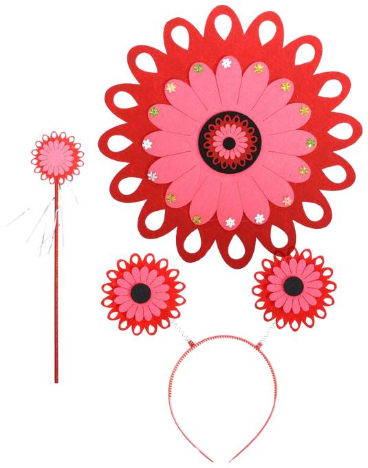 Карнавальный набор Красивый цветок,