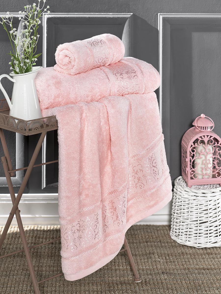 Полотенце Karna Favori Цвет: Розовый (70х140 см)