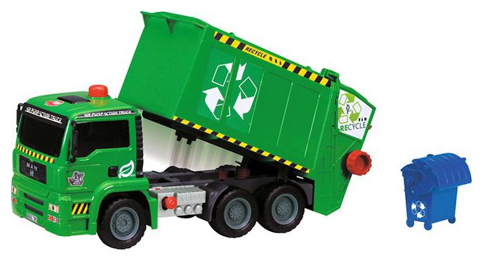Мусоровоз с контейнером AirPump, 31 см Dickie Toys