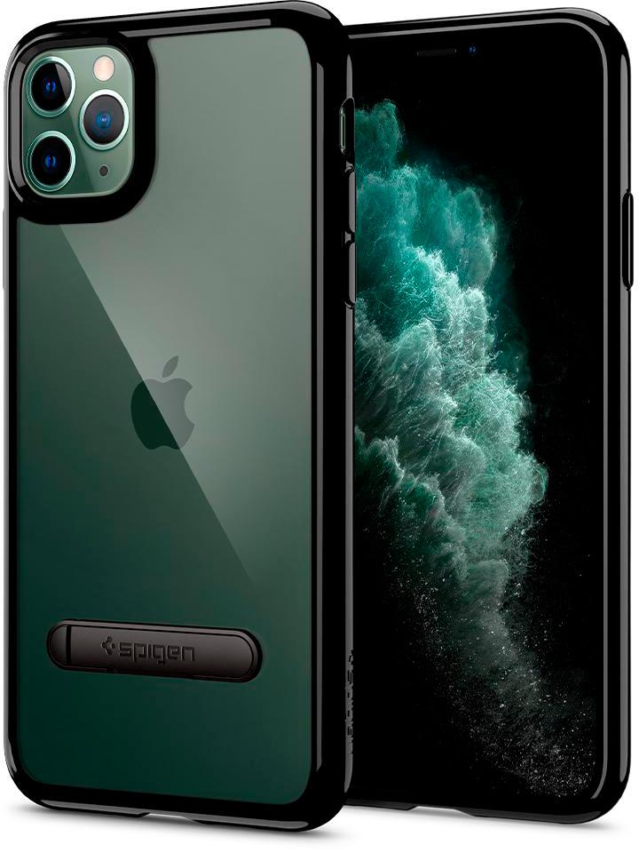 Чехол Spigen Ultra Hybrid S 077CS27444 для iPhone 11 Pro Black