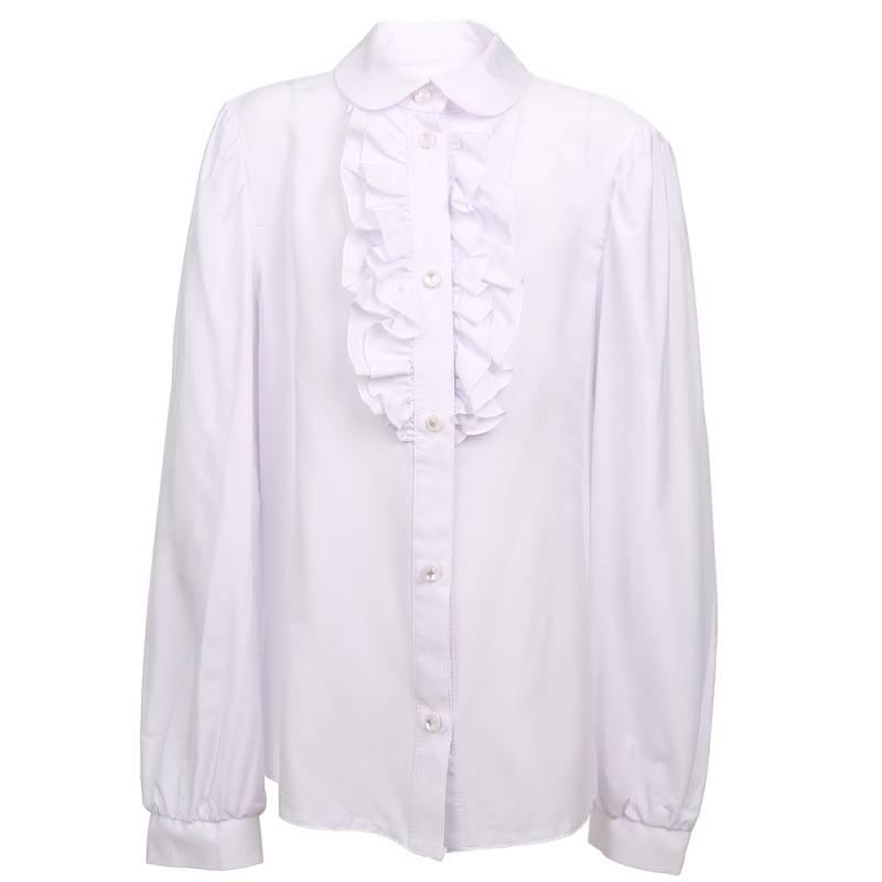 Купить 15с708, Блузка Смена, цв. белый, 122 р-р, Блузки для девочек