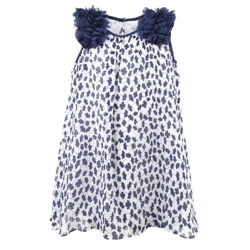 Купить Платье MAYORAL, цв. темно-синий, 104 р-р, Детские платья и сарафаны