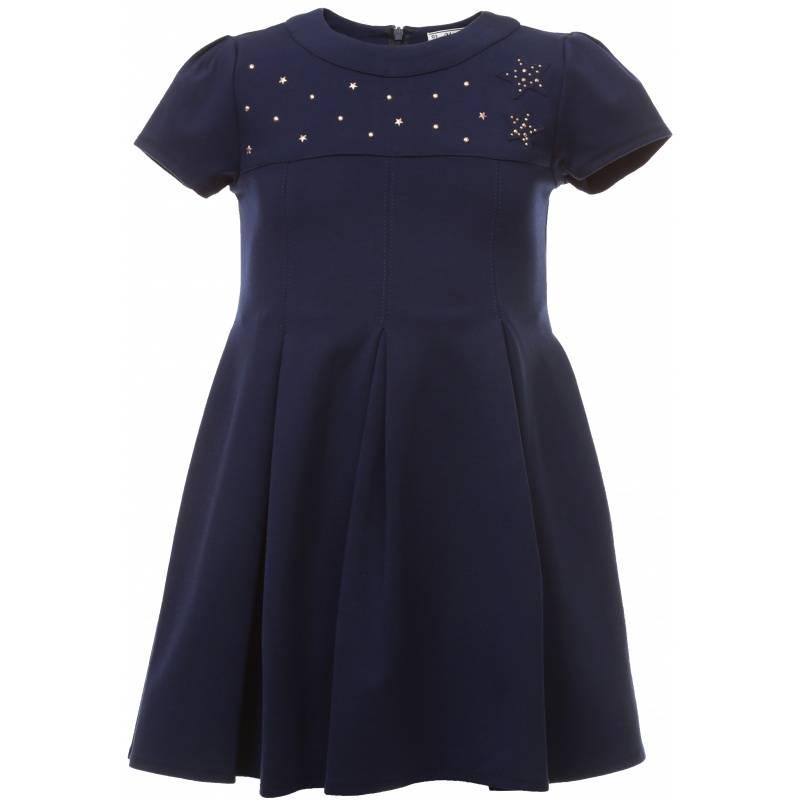 Купить 4.923/75, Платье MAYORAL, цв. темно-синий, 128 р-р, Платья для девочек