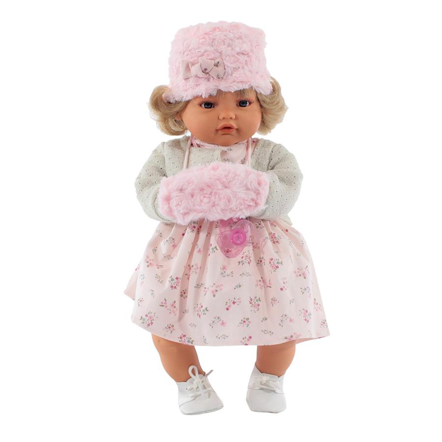 Купить Белла в белом, Кукла Munecas Antonio Белла в Белом 42 см (1669W), Antonio Juan, Классические куклы