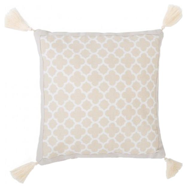 Подушка детская BabyDomiki Princess Jasmine Бежевая