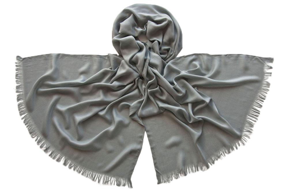 Палантин женский Tranini 1745 серый