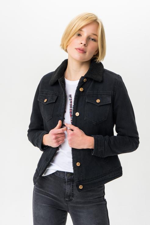 Джинсовая куртка ONLY 15185120 черная 34 EU