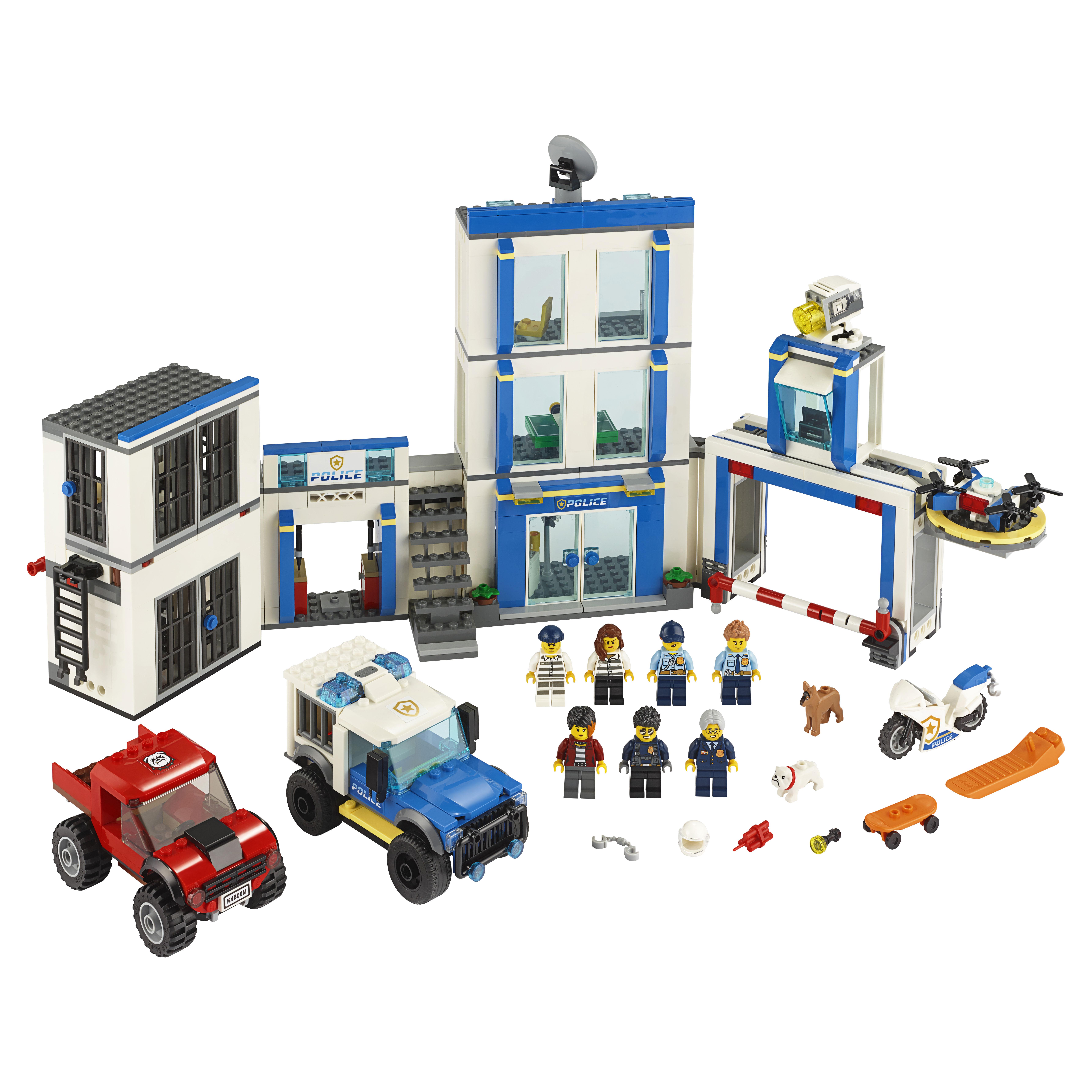 Купить Конструктор LEGO City Police 60246 Полицейский участок,
