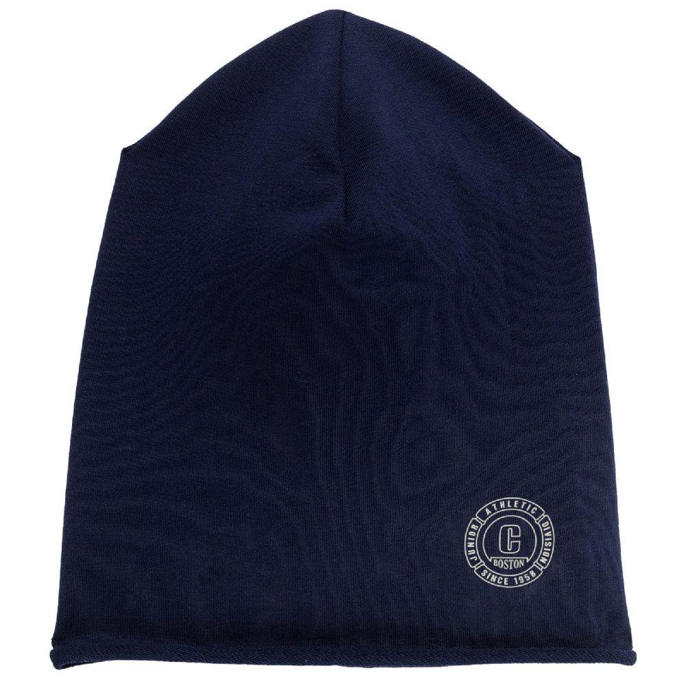 Купить Шапка Chicco Brando для мальчиков и девочек р.3 цвет тёмно-синий, Детские шапки