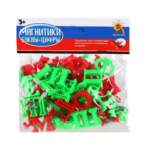 Купить Набор магнитных букв два жирафа Shantou Gepai R66, Кассы букв, слогов и счета