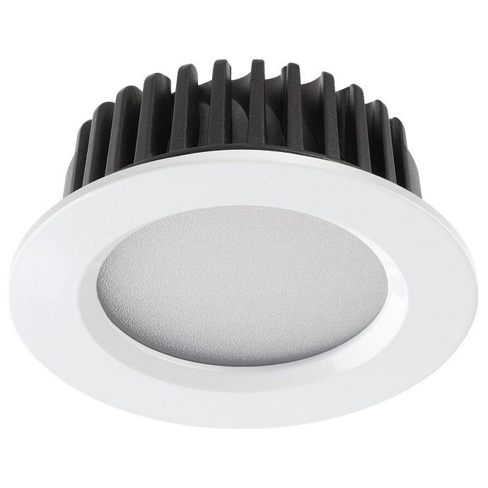 Встраиваемый светодиодный светильник Novotech Drum 357907