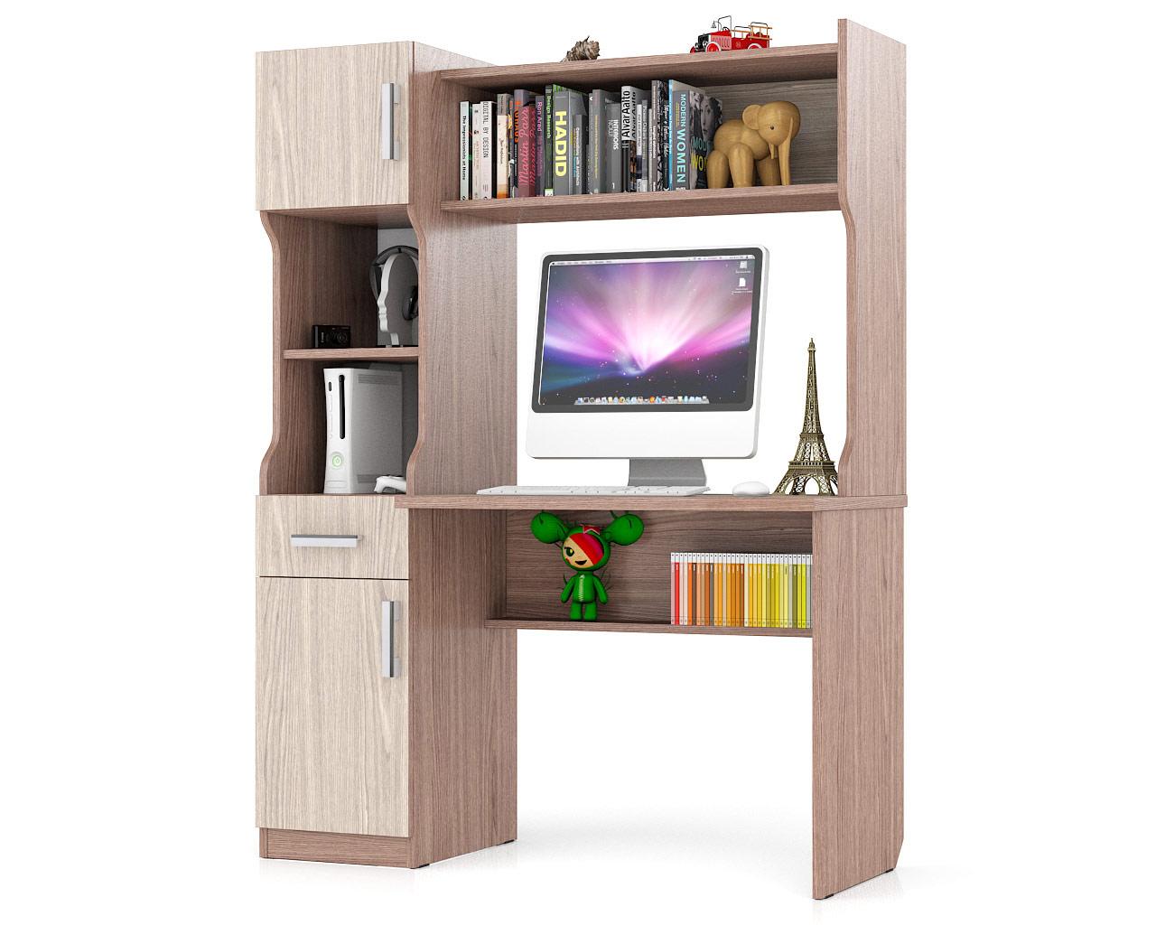 Компьютерный стол Мебельный Двор 43862 МД 1.02,