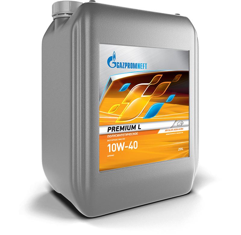 Моторное масло Gazpromneft Premium L 10W