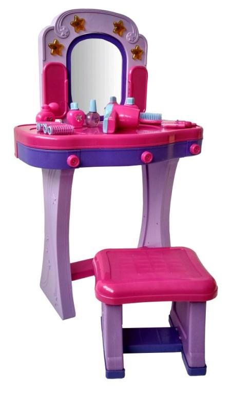 Купить Туалетный столик Red Box со стульчиком и аксессуарами, Игрушечные туалетные столики