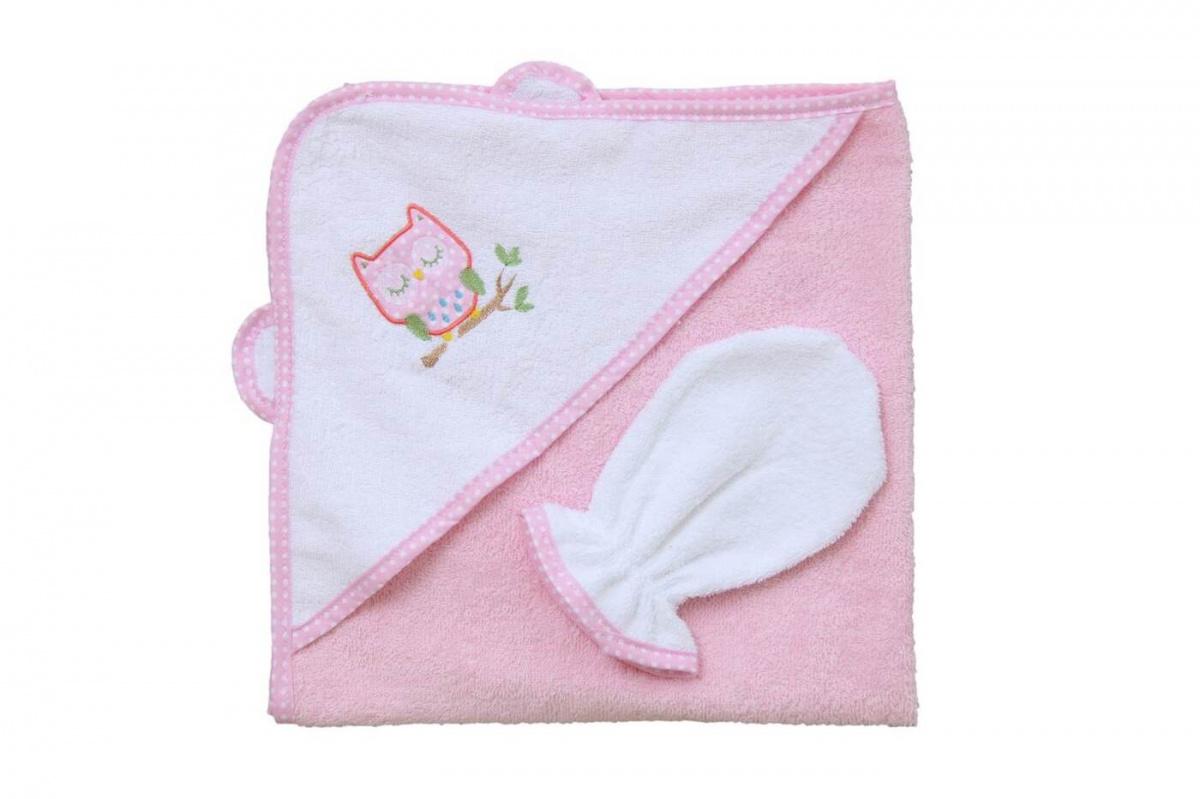 Комплект для купания Фея, розовый